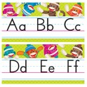 SOCK MONKEYS ALPHABET LINES