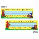 Alphabet & Numbers 36pk Tented Name