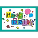 Happy Birthday 30pk Postcards 4x6
