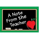 A Note From The Teacher 30pk