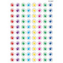 Mini Stickers Helping Hands 528pk