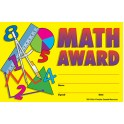 Math Awards 25pk 8-1/2 X 5-1/2