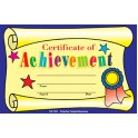 Certificate Of Achievement 25pk
