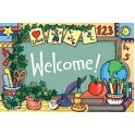 School Tools Welcome 30pk Postcards
