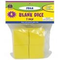 2 Inch Foam Blank Dice
