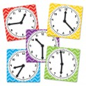 CLOCKS SPINNERS PACK OF 5