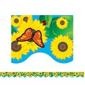 Sunflowers Border Trim