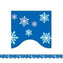 Snowflakes Border Trim