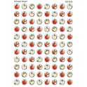 Sw Apples Mini Stickers