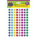 Mini Happy Face Valu-pak Stickers