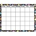Fancy Stars Calendar Chart