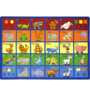 Animal Phonics Rug | Preschool Rug | Classroom Rug | ABC Rugs | Joy Carpets