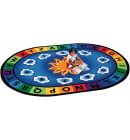 Sunny Day Learn & Play Classroom Rug | Circletime Rugs | Educational Carpets