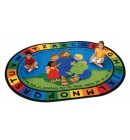 Jesus Rugs | religious rugs | faith based classroom rugs