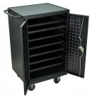 Tablet Storage Station w/ Electric - Holds 12 Tablets