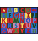 Oversize Alphabet Rug | ABC Rugs | ABC Rugs | ABC Classroom Rugs