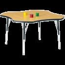 FOUR-LEAF Berries Classic Activity Table, Oak
