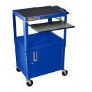 Presentation Cart - Blue