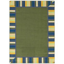 Clean Green Early Childhood Rug | Infant Class Rugs | Infant Rugs