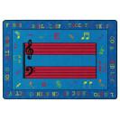 Fun With Music Rug | Classroom Rugs | Classroom Carpets | Flagship Carpets