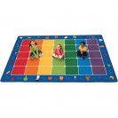 Fun with Phonics Seating Rug | ABC Rugs | Educational Rugs