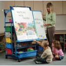 Premium Royal Inspiration Station | Teacher Easels | Classroom Easel | Teaching Easel