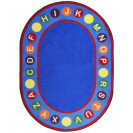 Alphabet Spots Classroom Rugs | ABC Classroom Rugs | Educational Rugs