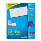 Avery Easy Peel White Address