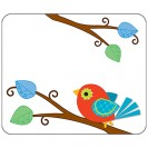BOHO BIRDS NAME TAGS