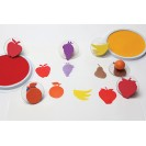 Ready2learn Giant Fruit Stamps Set
