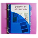 MINI SIZE 5 TAB POLY INDEX DIVIDERS