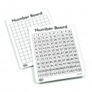 WRITE ON WIPE OFF 120 NUMBER MATS