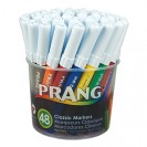 PRANG ART MARKERS WASHABLE 48