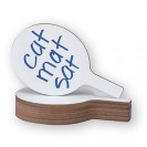 Economy Dry Erase Answer Paddle 12