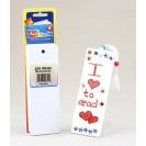 Bookmarks 2 X 6 Ultra White 100