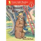 Green Light Readers Big Brown Bear