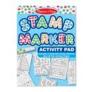 Stamp Marker Activity Pad Blue