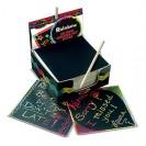 Box Of Rainbow Mini Notes 125 Cards