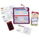 Pretend & Play Checkbook W/