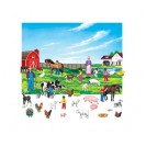 FARM SET 6IN FIGURES WITH UNMOUNTED