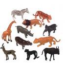 Wild Animals Playset