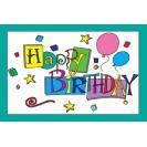 Happy Birthday 30pk Postcards 4x6