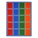 Blocks Abound Classroom Seating Rugs | Seating Rugs