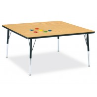 Square Activity Table | Jonti-Craft | preschool tables | classroom tables