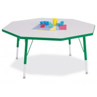 Preschool Tables | Daycare Tables | Classroom Tables | School Tables | Jonti-Craft | OCTAGON Berries Prism Activity Table