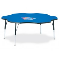 SIX-LEAF Berries Classic Activity Table | Jonti-Craft | School Activity Tables | Classroom Activity Tables | Preschool Tables