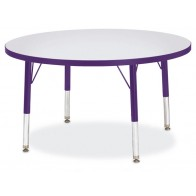 round activity tables | preschool activity tables | jonti-craft tables