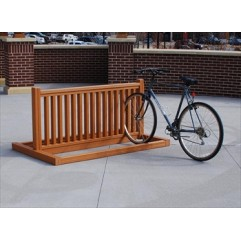 bike rack plans wood