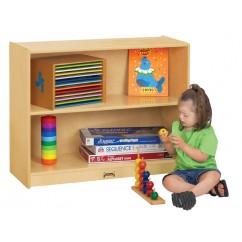 classroom book storage | preschool storage | montessori shelves