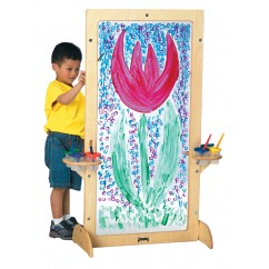 See-Thru Art Easel | Jonti-Craft | Art Easels